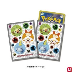 Protège-cartes Starters Sworld and Shield Pokémon TCG japan plush