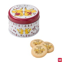 Cookie dessin Poka Poka Pikachu japan plush