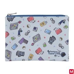 Pochette plate Sac de dresseur Pokémon GR japan plush