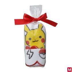 Hand towel Poka Poka Pikachu A japan plush