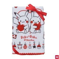 Mini serviette de bain Poka Poka Pikachu japan plush