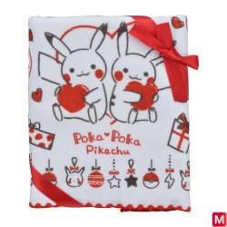 Face towel Poka Poka Pikachu japan plush