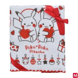 Serviette visage Poka Poka Pikachu japan plush