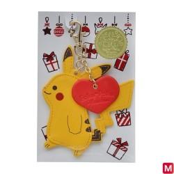 Porte-clés Poka Poka Pikachu japan plush