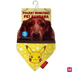 Pet Bandana Pikachu S japan plush