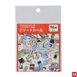 Assortiment de sticker Sac de dresseur Pokémon RD japan plush