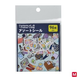 Assortiment de sticker Sac de dresseur Pokémon OR_TQ japan plush