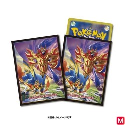 Card sleeves Zacian Zamazenta Pokémon TCG japan plush