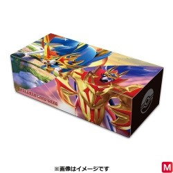 Longue Card Box Zacian Zamazenta Pokémon TCG japan plush