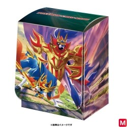 Deck Box Zacian Zamazenta Pokémon TCG japan plush