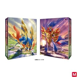 Collection File Zashian Zamazenta Pokémon TCG japan plush