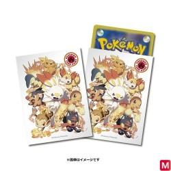 Protège-cartes Starters Feu Pokémon TCG japan plush