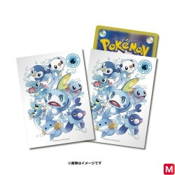 Protège-cartes Starters Eau Pokémon TCG japan plush