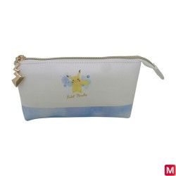 Wallet 3 Pockets Pikachu Watercolor Series  japan plush