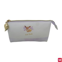 3 Pocket Pouch Eevee Watercolor Series japan plush