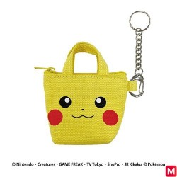 Mini tote bag KR Face japan plush