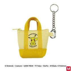 Mini tote bag KR Pikachu japan plush