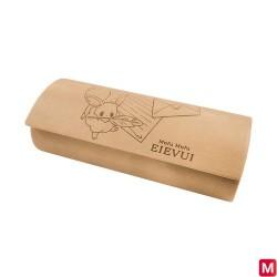 Étui à lunettes Mofu Mofu Eievui Lettre japan plush