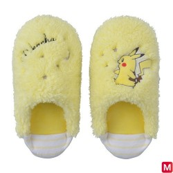 Chaussons Pikachu Jaune M japan plush
