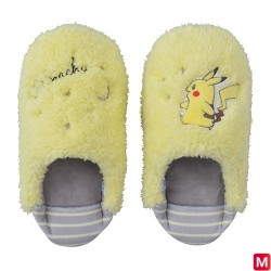 Slipper Pikachu Gray L japan plush