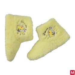 Room boots Pikachu Yellow M japan plush