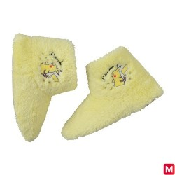 Chaussons Pikachu Gris L japan plush