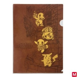 Pochette transparente Pokémon Sepia Graffiti Backstreet japan plush