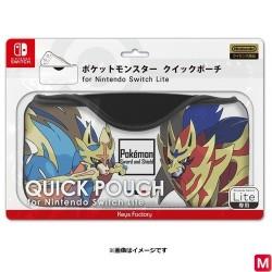 Sacoche rapide Zacian Zamazenta pour Nintendo Switch Lite japan plush