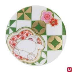 Plate Snorlax japan plush
