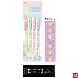 Ballpoint pens Milky color Pokémon japan plush