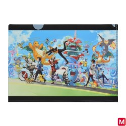 A4 Pochette transparente Pokémon GO 1st Anniversary japan plush