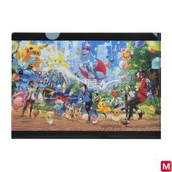 A4 Pochette transparente Pokémon GO 3rd Anniversary japan plush