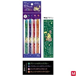 Ballpoints pen metalic colors japan plush