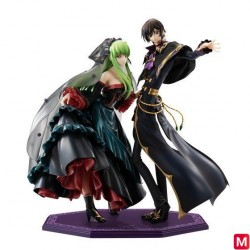 Figurine Precious G.E.M. Series Code Geass L.L and C.C japan plush