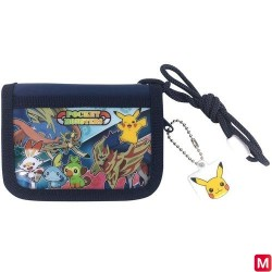 Porte Feuille Pokemon NAVY japan plush