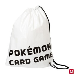 Drawstring Bag pokemon card game japan plush