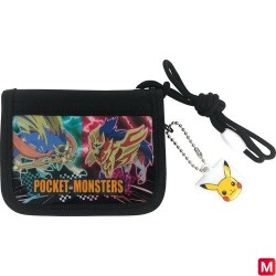 Porte Feuille Pokemon BLACK japan plush
