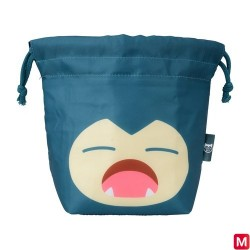 Warm and Cold Lunch Drawstring Yawning Snorlax japan plush
