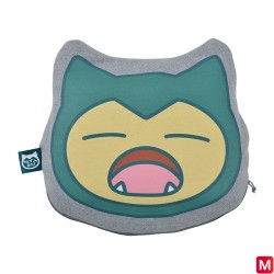 Cushion Blanket Yawning Snorlax japan plush