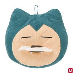 Tissue Box Yawning Snorlax japan plush