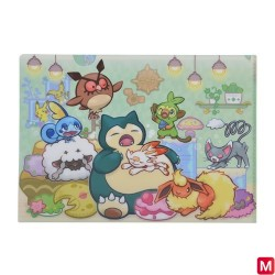A4 Clear File Kabigon no Akubi japan plush