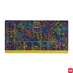 Playmat Pokemon Card Game NeonColor japan plush