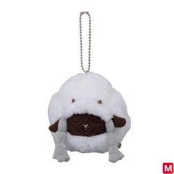 Plush Keychain Wooloo Yawning japan plush