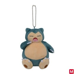 Plush Keychain Snorlax Yawning japan plush