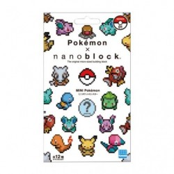 Nanoblock Mini Pocket Monster Series 01 japan plush