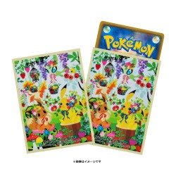 Protège-cartes Pokemon Berry s forest Ghost s castle japan plush