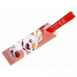Clear Chopstick Scorbunny japan plush