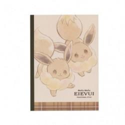 Cahier Note Mofu Mofu Evoli Cheers japan plush