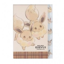 Clear File Mofu Mofu Eevee Cheers japan plush