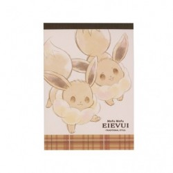 Note Memo Mofu Mofu Eevee Cheers japan plush